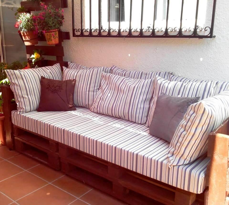 gran sofá palet