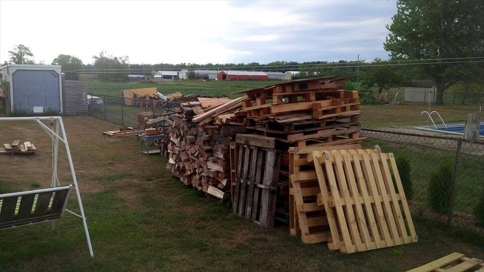 before preview of firewood storage
