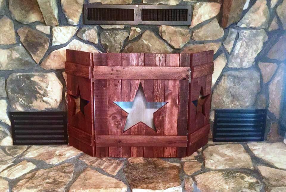 diy custom wooden pallet hinged mini start wall creation