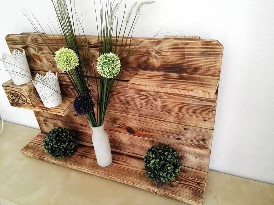 Gorgeous Pallet Display Shelf