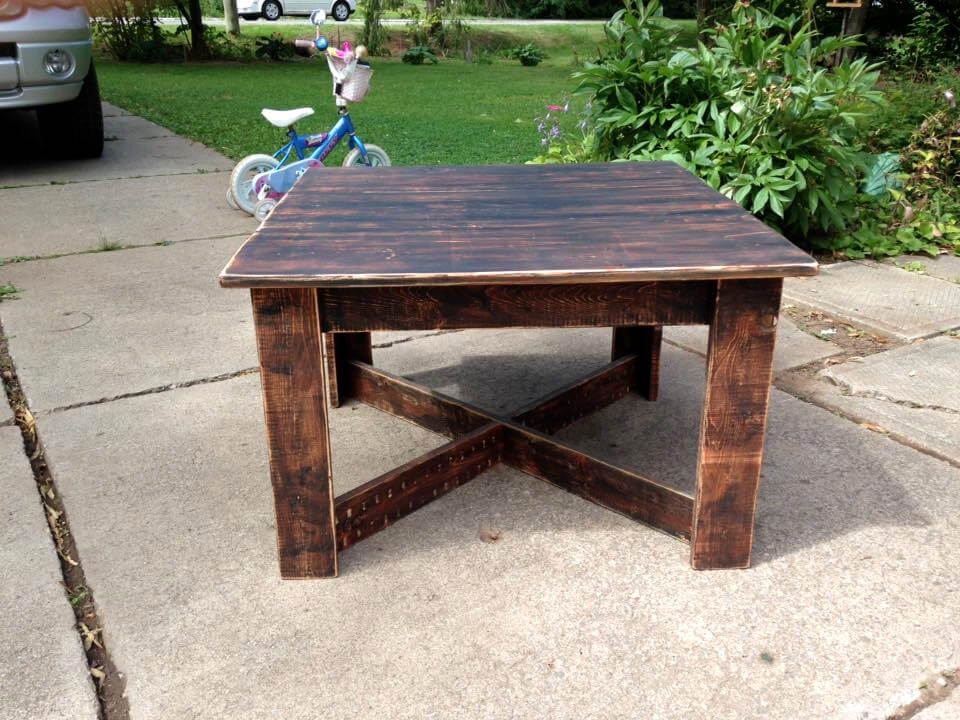 Upcycled Pallet Coffee Table 101 Pallet Ideas