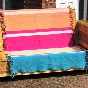 no-cost wooden pallet sofa