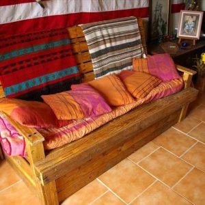 diy pallet sofa seat