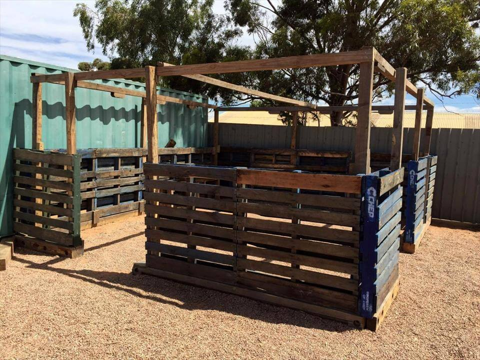 build a greenhouse with pallets