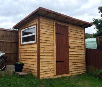 diy wooden pallet shed