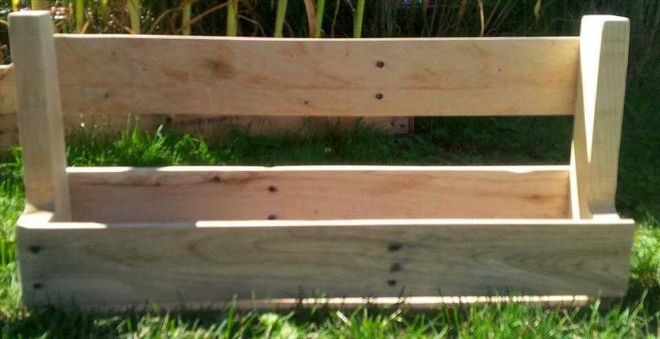 rustic wooden pallet shoes rack