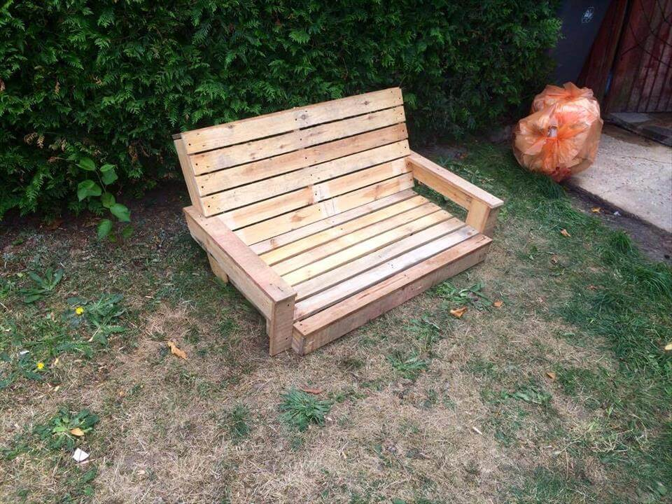 Build a pallet swing 101 pallet ideas for How to make wooden swing seat