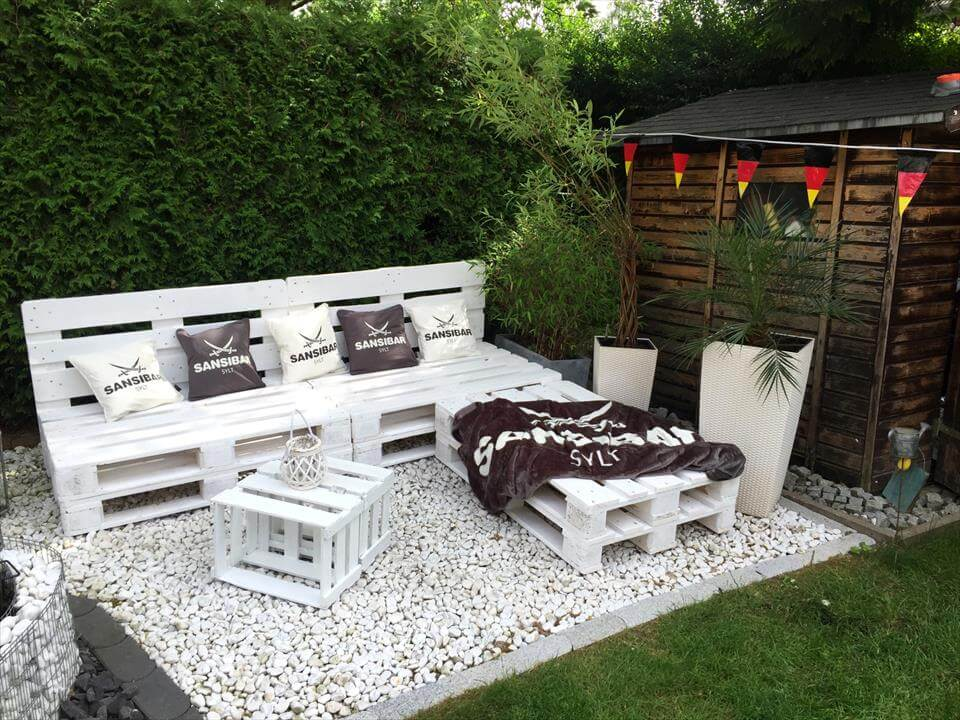 Pallet Garden Furniture Diy Pallet Ideas