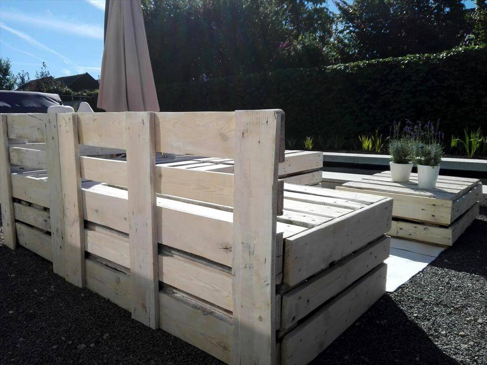 Diy Pallet Lounge Furniture Set