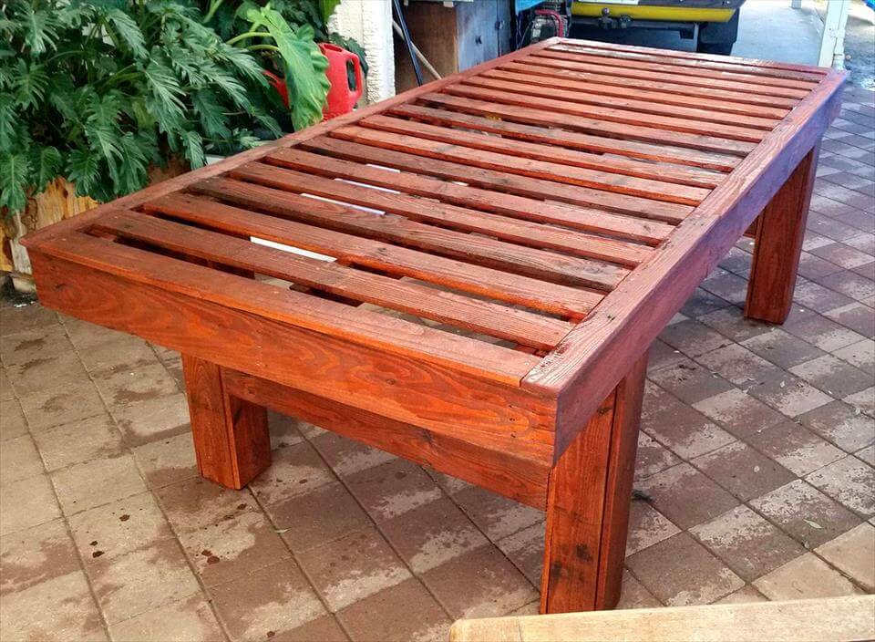 built-to-last pallet coffee table