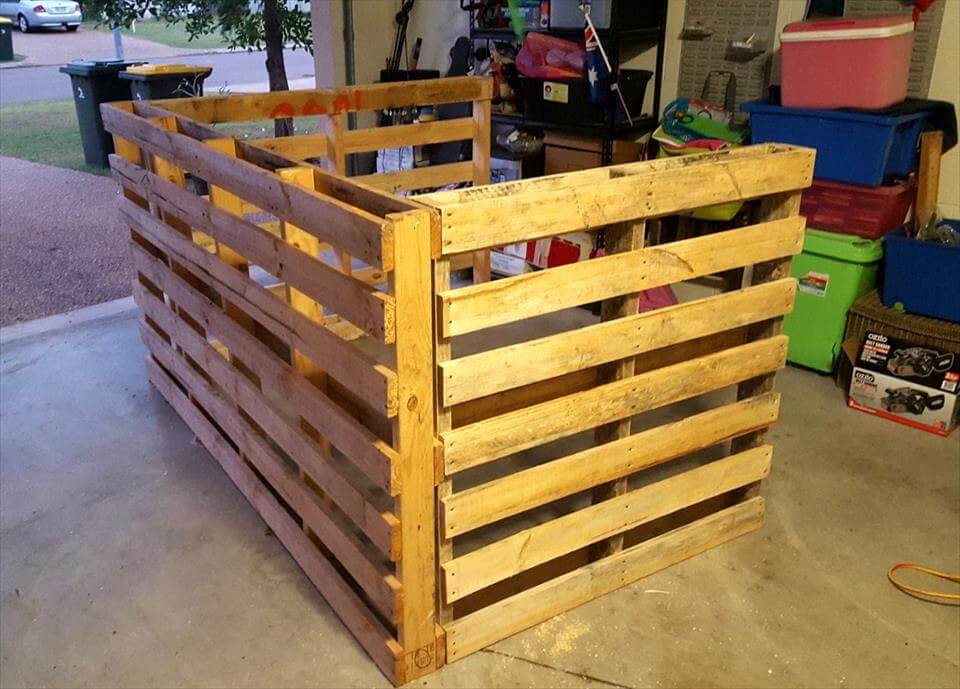 Build A Bar With Pallets