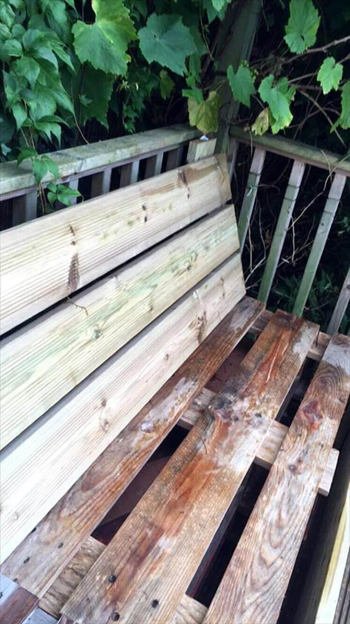 handmade pallet sectional sofa frame