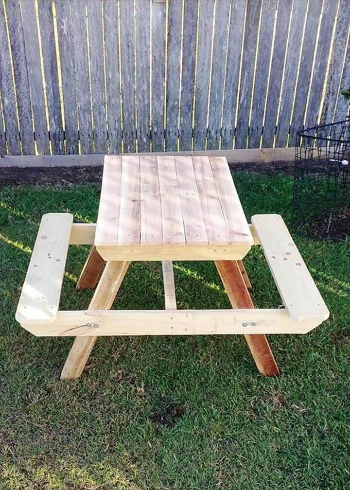 DIY Custom Wood Pallet Furniture Ideas