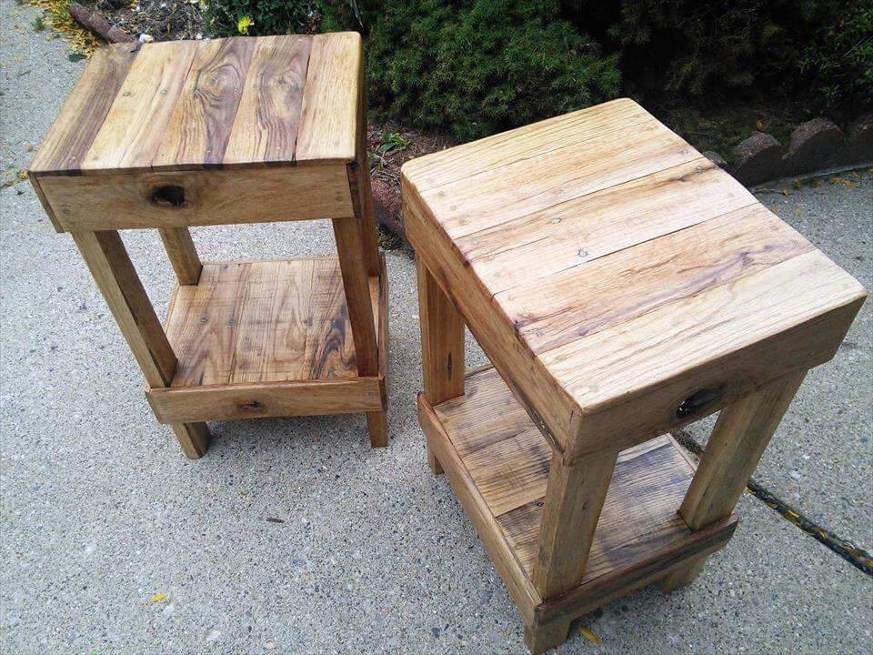 low-cost yet sturdy pallet stools