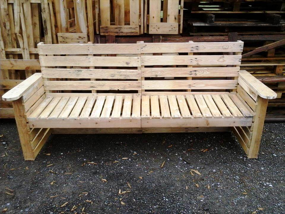 DIY Pallet Bench And Chair Set 101 Ideas